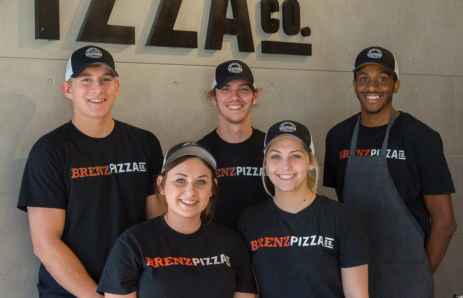 Enzo's pizza employees