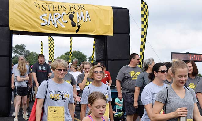Steps for Sarcoma Pizza Fundraiser